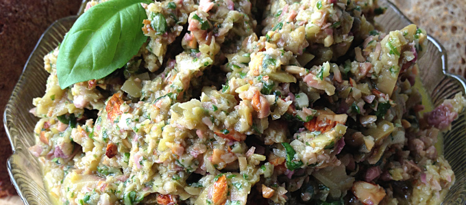 Green Olive Tapenade Recipe from David Lebovitz's My Paris Kitchen