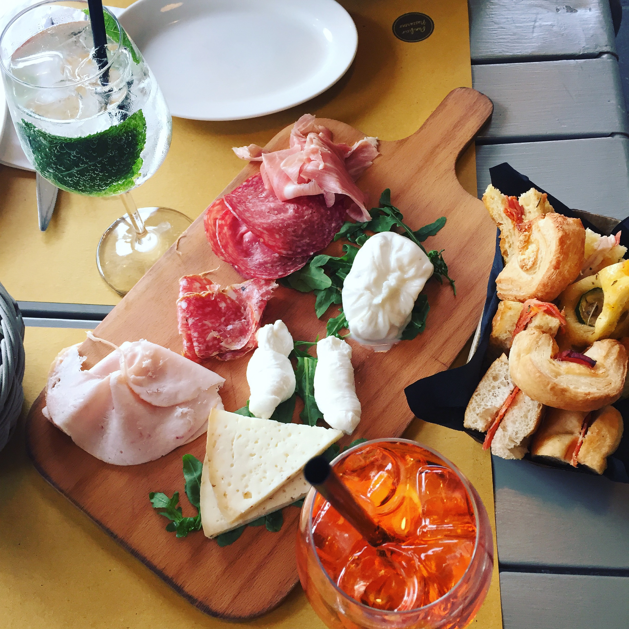 Italian aperitivo, Ms. Adventures in Italy, by Sara Rosso